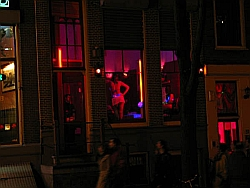 Amsterdam Red Light District picture courtesy of Amsterdam.info